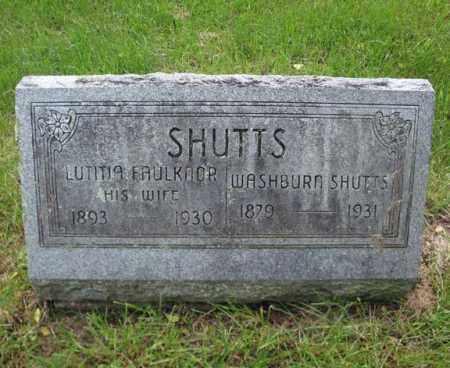 SHUTTS, WASHBURN - Montgomery County, New York | WASHBURN SHUTTS - New York Gravestone Photos