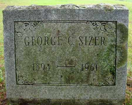 SIZER, GEORGE C - Montgomery County, New York | GEORGE C SIZER - New York Gravestone Photos