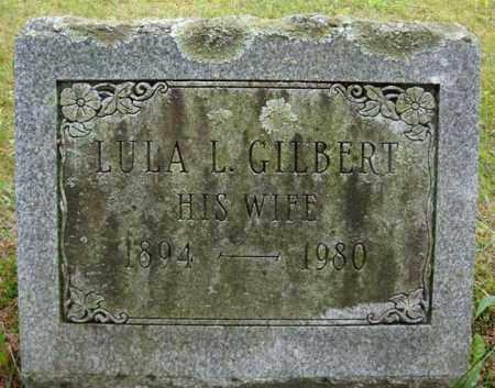 GILBERT SIZER, LULA L - Montgomery County, New York | LULA L GILBERT SIZER - New York Gravestone Photos