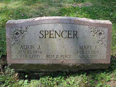 SPENCER, ALTON J - Montgomery County, New York | ALTON J SPENCER - New York Gravestone Photos