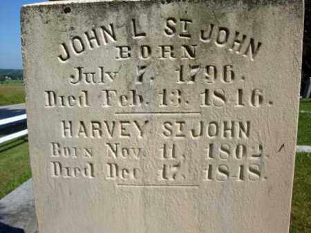 ST JOHN, HARVEY - Montgomery County, New York | HARVEY ST JOHN - New York Gravestone Photos