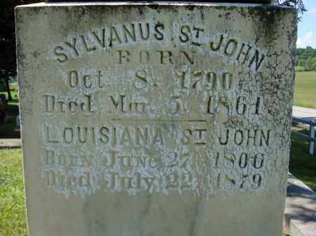 ST JOHN, LOUISIANA - Montgomery County, New York | LOUISIANA ST JOHN - New York Gravestone Photos