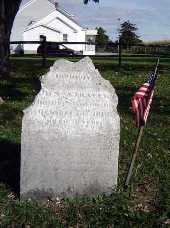 STRAYER, JOHN - Montgomery County, New York | JOHN STRAYER - New York Gravestone Photos