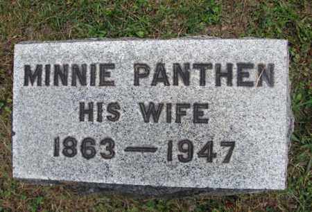 PANTHEN STRUENSEE, MINNIE - Montgomery County, New York | MINNIE PANTHEN STRUENSEE - New York Gravestone Photos