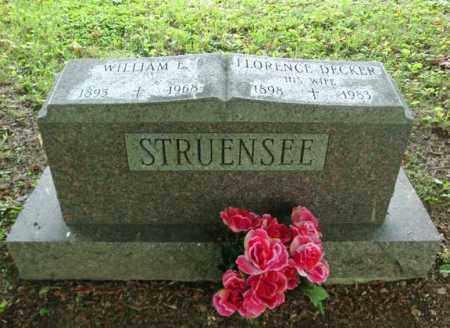 DECKER STRUENSEE, FLORENCE - Montgomery County, New York | FLORENCE DECKER STRUENSEE - New York Gravestone Photos