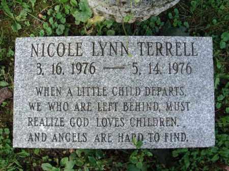 TERRELL, NICOLE LYNN - Montgomery County, New York | NICOLE LYNN TERRELL - New York Gravestone Photos