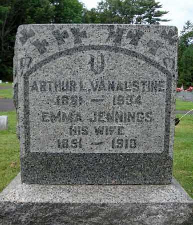 JENNINGS, EMMA - Montgomery County, New York | EMMA JENNINGS - New York Gravestone Photos