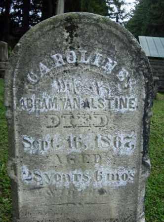 VAN ALSTINE, CAROLINE - Montgomery County, New York | CAROLINE VAN ALSTINE - New York Gravestone Photos