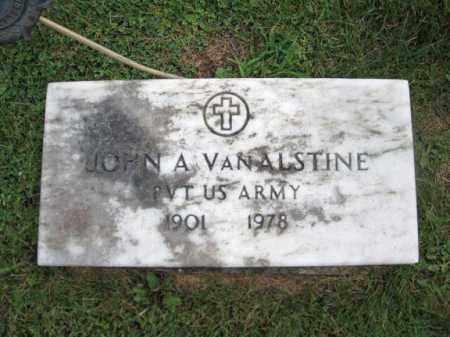 VAN ALSTINE, JOHN A - Montgomery County, New York | JOHN A VAN ALSTINE - New York Gravestone Photos