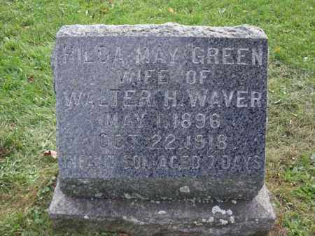 GREEN WAVER, HILDA MAY - Montgomery County, New York | HILDA MAY GREEN WAVER - New York Gravestone Photos