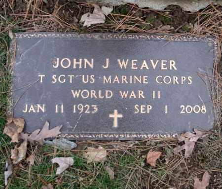 WEAVER, JOHN J - Montgomery County, New York | JOHN J WEAVER - New York Gravestone Photos