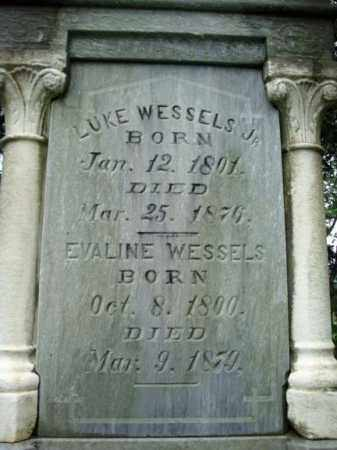 WESSELS, LUKE - Montgomery County, New York | LUKE WESSELS - New York Gravestone Photos