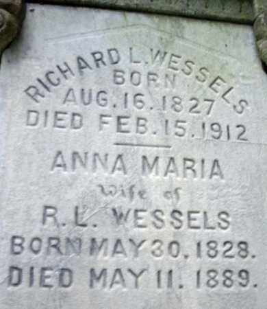 WESSELS, ANNA MARIA - Montgomery County, New York | ANNA MARIA WESSELS - New York Gravestone Photos