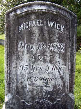 WICK, MICHAEL - Montgomery County, New York | MICHAEL WICK - New York Gravestone Photos