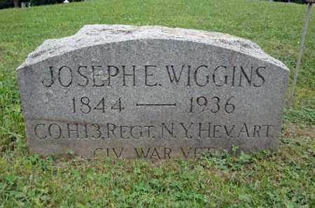WIGGINS, JOSEPH E - Montgomery County, New York | JOSEPH E WIGGINS - New York Gravestone Photos