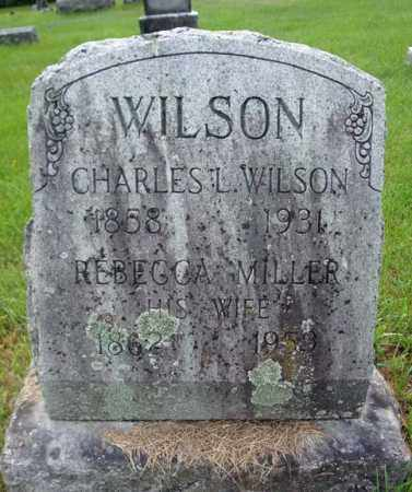 WILSON, REBECCA - Montgomery County, New York | REBECCA WILSON - New York Gravestone Photos
