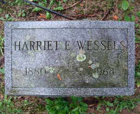 WESSELS, HARRIET E - Montgomery County, New York | HARRIET E WESSELS - New York Gravestone Photos
