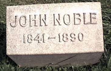 NOBLE, JOHN - Niagara County, New York | JOHN NOBLE - New York Gravestone Photos