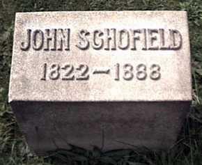 SCHOFIELD, JOHN - Niagara County, New York   JOHN SCHOFIELD - New York Gravestone Photos
