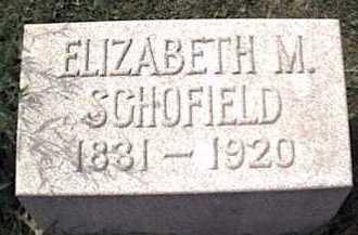 MYERS SCOFIELD, ELIZABETH - Niagara County, New York | ELIZABETH MYERS SCOFIELD - New York Gravestone Photos