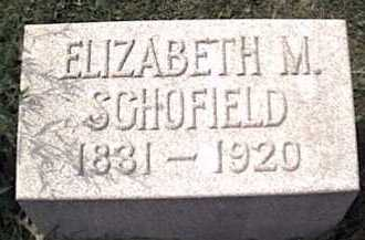 SCOFIELD, ELIZABETH - Niagara County, New York | ELIZABETH SCOFIELD - New York Gravestone Photos