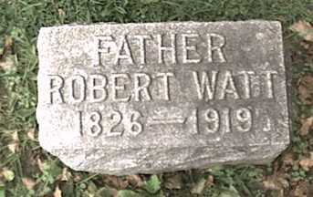 WATT, ROBERT - Niagara County, New York | ROBERT WATT - New York Gravestone Photos