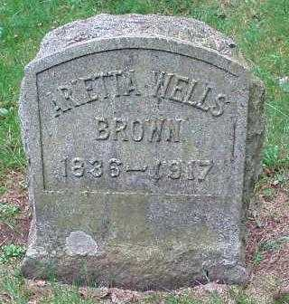 BROWN, ARLETTA - Oneida County, New York | ARLETTA BROWN - New York Gravestone Photos