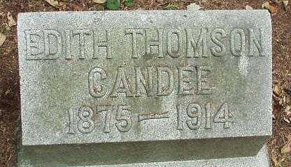 CANDEE, EDITH - Oneida County, New York   EDITH CANDEE - New York Gravestone Photos