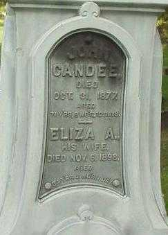 CANDEE, JOHN - Oneida County, New York | JOHN CANDEE - New York Gravestone Photos