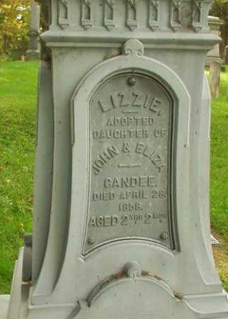 CANDEE, LIZZIE - Oneida County, New York | LIZZIE CANDEE - New York Gravestone Photos