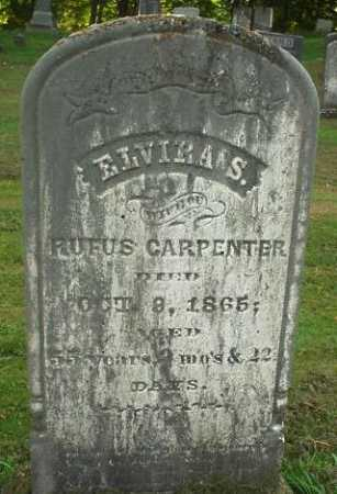 DAVIS CARPENTER, ELVIRA S. - Oneida County, New York | ELVIRA S. DAVIS CARPENTER - New York Gravestone Photos
