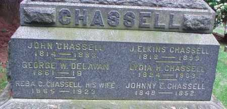 CHASSELL, J. ELKINS - Oneida County, New York | J. ELKINS CHASSELL - New York Gravestone Photos