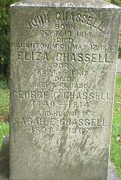 CHASSELL, GEORGE G. - Oneida County, New York | GEORGE G. CHASSELL - New York Gravestone Photos