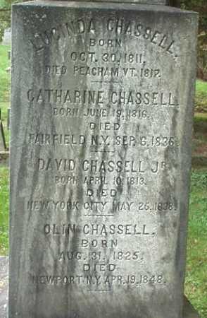 CHASSELL, LUCINDA - Oneida County, New York | LUCINDA CHASSELL - New York Gravestone Photos