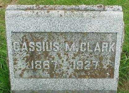 CLARK, CASSIUS M. - Oneida County, New York   CASSIUS M. CLARK - New York Gravestone Photos