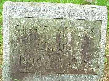 CLOUD, GRACE BOWERS - Oneida County, New York | GRACE BOWERS CLOUD - New York Gravestone Photos