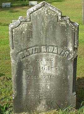 DAVIS, DAVID R. - Oneida County, New York   DAVID R. DAVIS - New York Gravestone Photos