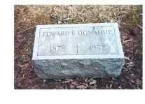 DONAHUE, EDWARD F - Oneida County, New York | EDWARD F DONAHUE - New York Gravestone Photos