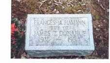 HAMANN DONAHUE, FRANCES M - Oneida County, New York | FRANCES M HAMANN DONAHUE - New York Gravestone Photos