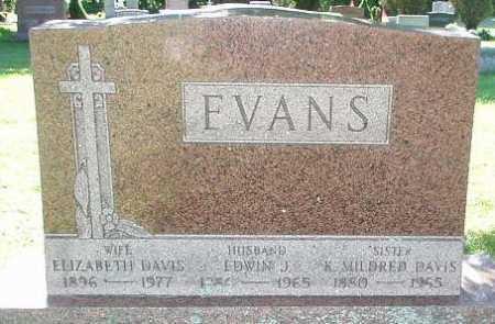 EVANS, EDWIN J. - Oneida County, New York | EDWIN J. EVANS - New York Gravestone Photos
