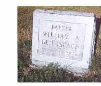 GEIERSBACH, WILLIAM A - Oneida County, New York | WILLIAM A GEIERSBACH - New York Gravestone Photos