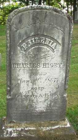 HIGBY, PHILENIA - Oneida County, New York | PHILENIA HIGBY - New York Gravestone Photos