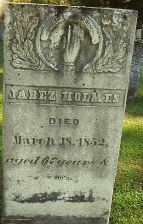 HOLMES, JABEZ - Oneida County, New York | JABEZ HOLMES - New York Gravestone Photos