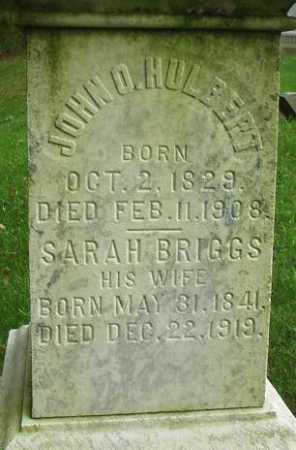 BRIGGS HULBERT, SARAH - Oneida County, New York   SARAH BRIGGS HULBERT - New York Gravestone Photos