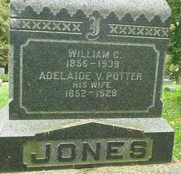 POTTER JONES, ADELAIDE V. - Oneida County, New York | ADELAIDE V. POTTER JONES - New York Gravestone Photos