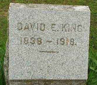 KING, DAVID E. - Oneida County, New York | DAVID E. KING - New York Gravestone Photos