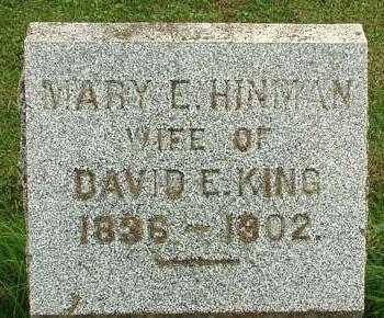 HINMAN KING, MARY E. - Oneida County, New York | MARY E. HINMAN KING - New York Gravestone Photos