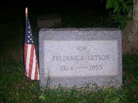 LETSON, FREDERICK - Oneida County, New York | FREDERICK LETSON - New York Gravestone Photos