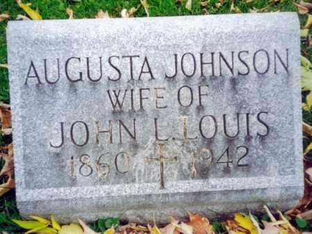 LOUIS, AUGUSTA - Oneida County, New York | AUGUSTA LOUIS - New York Gravestone Photos