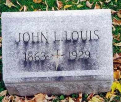 LOUIS, JOHN L - Oneida County, New York   JOHN L LOUIS - New York Gravestone Photos